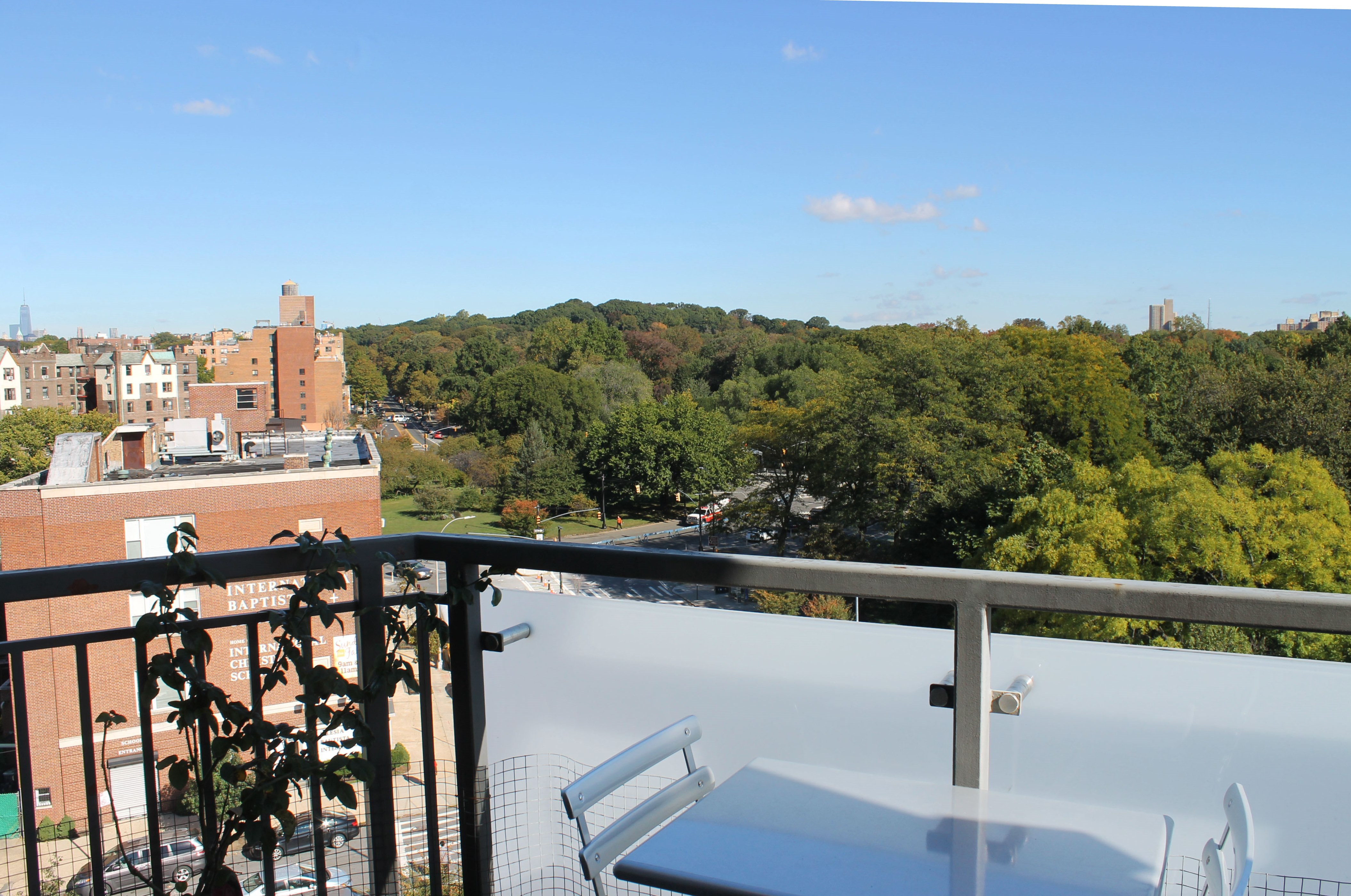 Prospect Park Views from Private Terrace