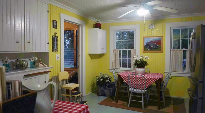 Kitchen #1 Dining Area to Side Porch