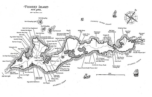fisher island illustrative map